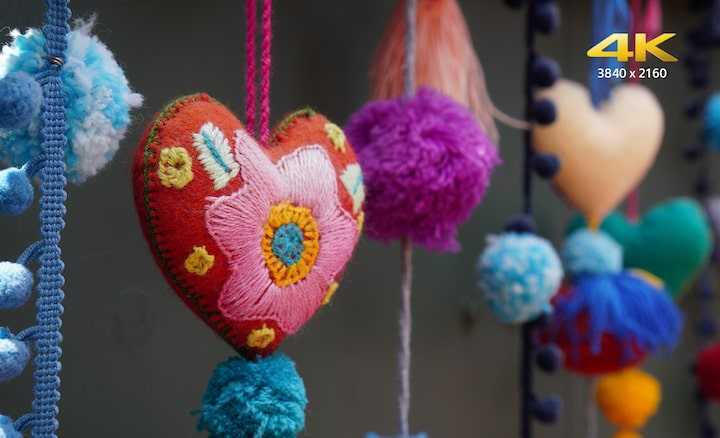 Image of High-resolution 4K movie recording