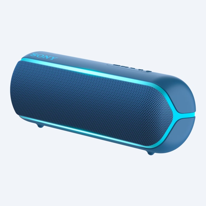 Sony SRS-XB3 Extra Bass Wireless Bluetooth Portable Speaker Blue-Charger include