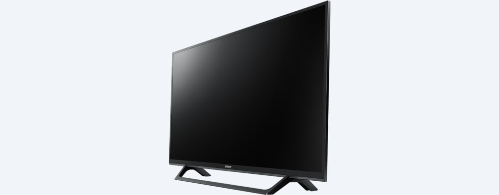 W66 BRAVIA Television angled front view