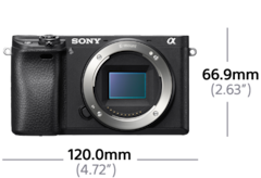 Picture of α6300 E-mount camera with APS-C Sensor