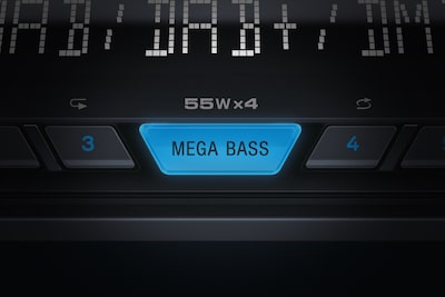 Mega Bass button