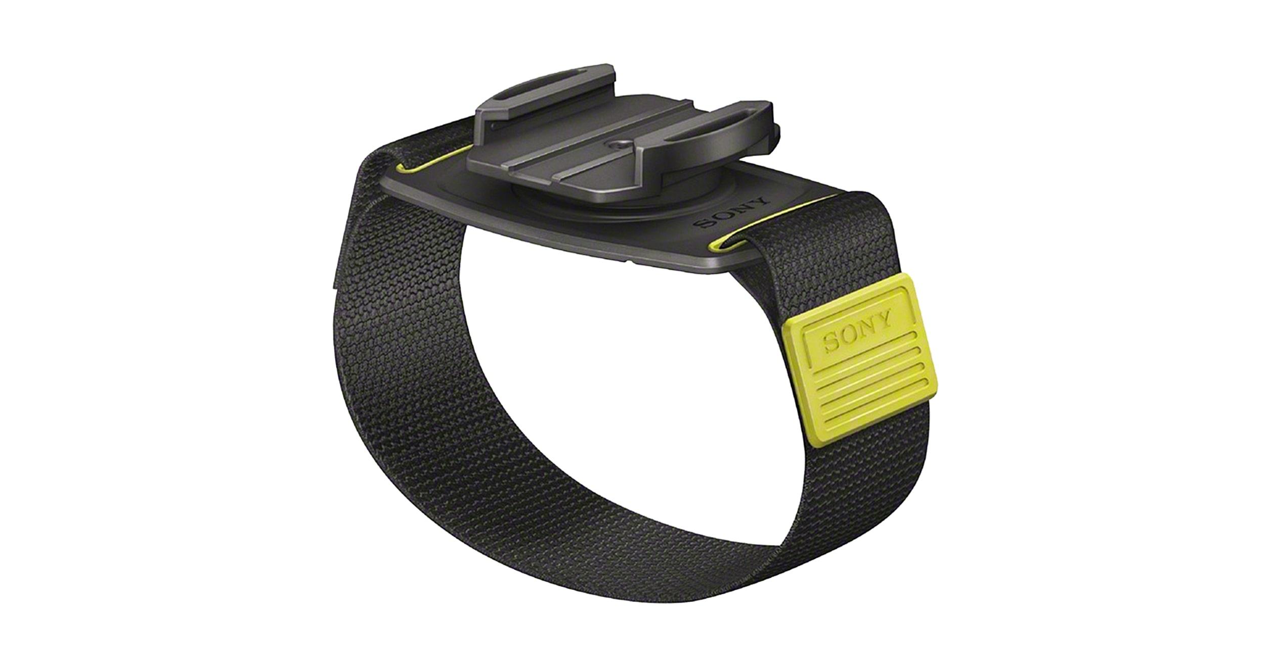Black Sony AKAWM1 Action Cam Wrist Strap