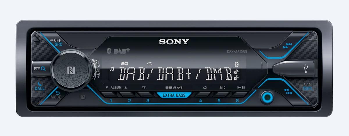 DAB Car Radio with CD Player & Bluetooth | DSX-A510BD | Sony EE