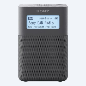 Picture of Portable DAB/DAB+ Clock Radio with Speakers