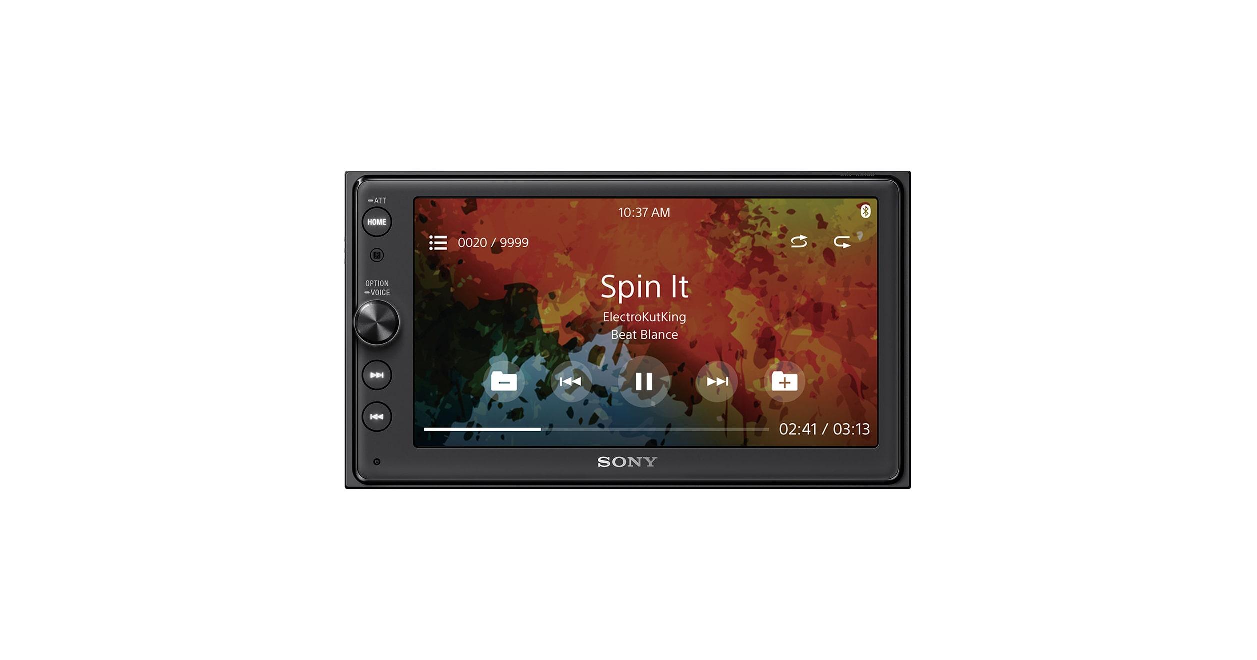 "Sony 16 3cm (6 4"") Media Receiver with BLUETOOTH"