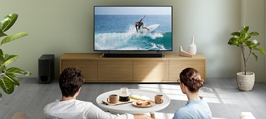 Picture of 2.1ch Sound Bar with powerful wireless subwoofer and BLUETOOTH® technology   HT-S350