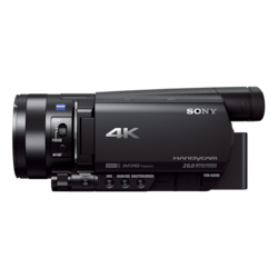Picture of AX100E 4K Camcorder