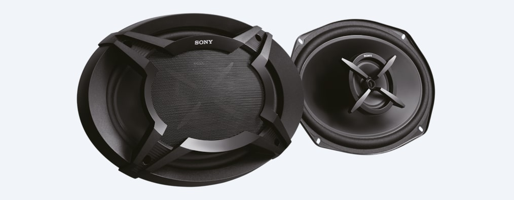 "Images of 16x24cm (6x9"") 2-Way Coaxial Speakers"