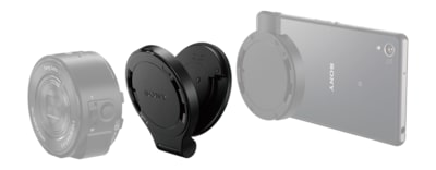 Images of Tilt Adapter and Grip Kit for QX Lens-Style Cameras