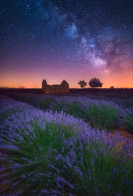 Albert Dros Sony Alpha 7RII provence landscape at night long exposure