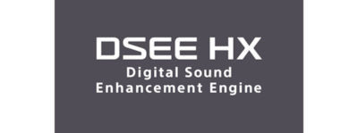 Upscale compressed digital music with DSEE HX