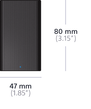 Picture of External SSD with USB Type-C™