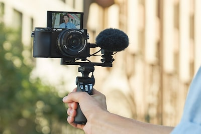 Image of External mic input for high-quality audio