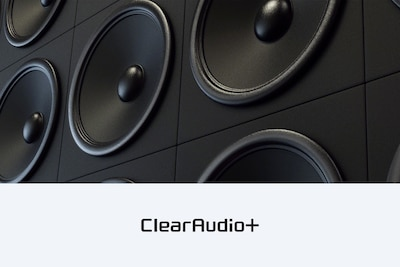 A clearer, more natural soundtrack with Clear Audio