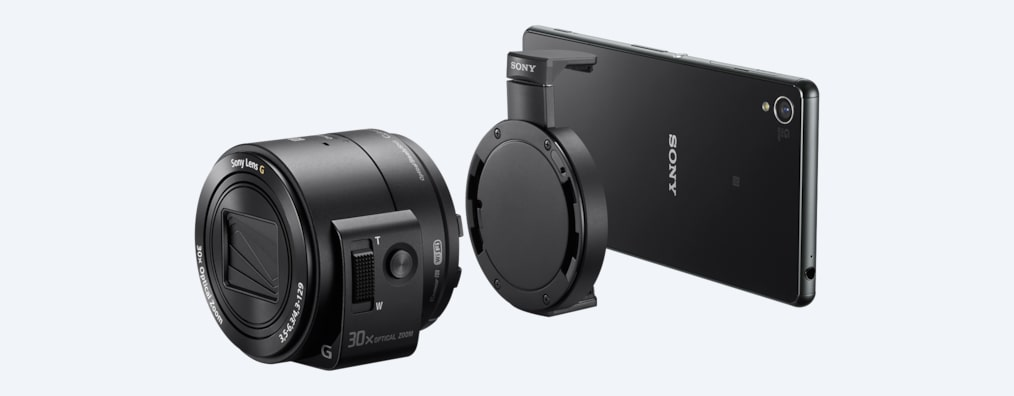 Images of DSC-QX30 Lens-style Camera with 30x Optical Zoom