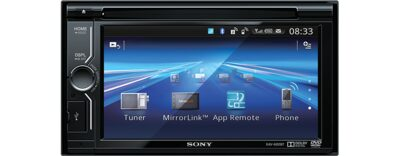 "Images of 15.5cm (6.1"") LCD DVD Receiver with MirrorLink"
