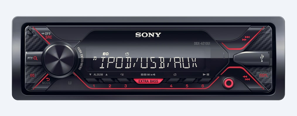 Images of DSX-A210UI Media Receiver with USB