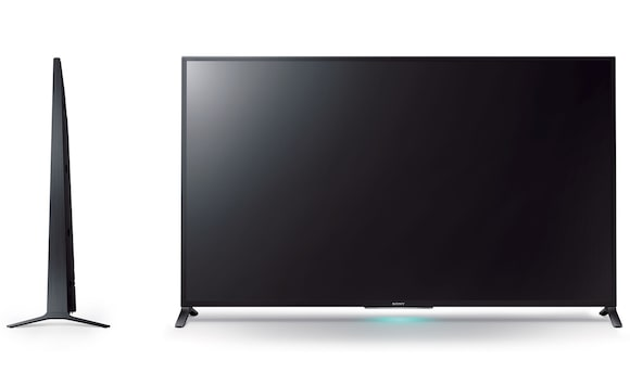 Futuristic design of Sony's 152 cm (60-inch) TV
