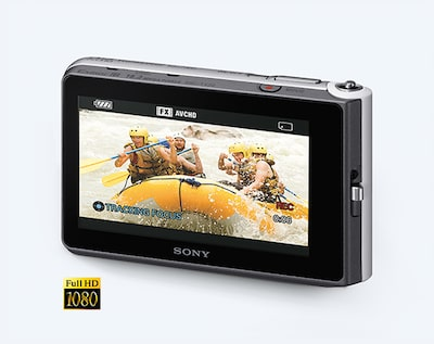 TX30 shoots Full HD movies