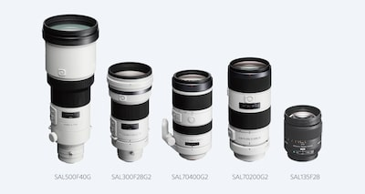 Compatible with a range of lenses