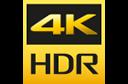 4K HR logo