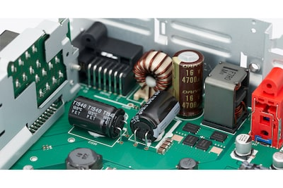 MEX-GS820BT Receiver power block and electrolytic capacitors