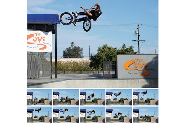 Image of Fast continuous shooting at up to 11 frames per second, with AF/AE