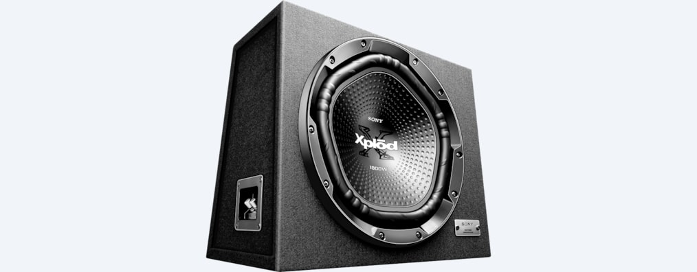 "Images of 30cm (12"") Subwoofer with Enclosure"