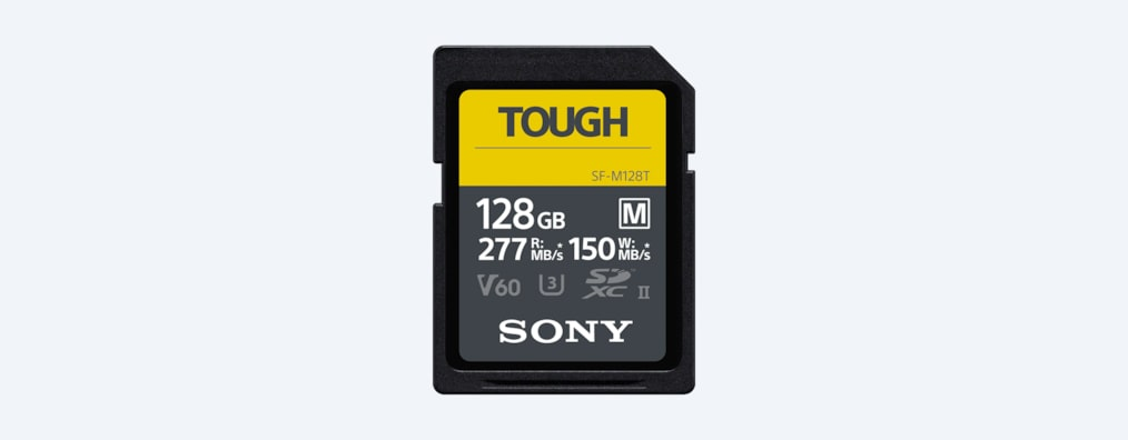 Images of SF-M series TOUGH specification UHS-II SD Card